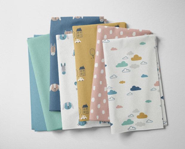 Kidsbury organic cotton fabrics